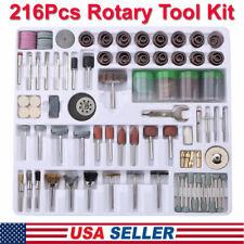 For Dremel Rotary Tool Accessories Kit Grinding Polishing Shank Craft Bits Set