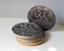 Lot 0f 25 Beer Mats DIMMU BORGIR In Diaboli After Forever Coasters RARE *NEW*