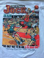 "VINTAGE 1993 JOE BLOW ""ULTIMATE JOCK"" SEX SPORTS NOVELTY SHIRT big johnson vtg"