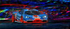 Automotive Motorsport Car Art McLaren F1 Gulf livery racing LARGE CANVAS PRINT