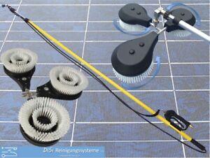 Solar PV Photovoltaik Reinigung Waschbürste rotierend Teleskoplanze 7,4m Kärcher