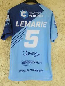 Maillot handball C'CHARTRES 2019 porté par Swan LEMARIE n°5 PRO LIGUE LNH XL