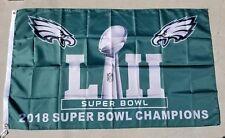 Philadelphia Eagles flag, 3x5ft polyester, Super Bowl Champions