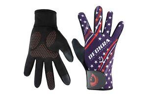 Cycling Bike Full Finger Gloves Touch Screen Cold Wear MTB BMX Bike Riding Glove