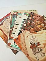 Cross Stitch 12 Days of Christmas Family Tree Borders Afgans Cats BookMarks Lot