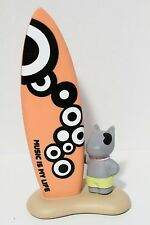 """Tappas """"Music Is My Life"""" Dog & Surfboard Money Bank"""