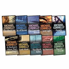 Michael Connelly A Harry Bosch Novel 10 Books Collection Pack Set New