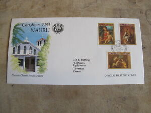 1983 First Day Cover/ FDC - Christmas