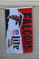 Lite Miller Atlanta Falcons Beer flag Banner 3X5Feet