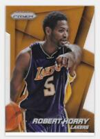 2014-15 Robert Horry #/139 Panini Prizm Prizms Refractor #169 Lakers Die-Cut