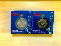 The Legend of Zelda Breath of the Wild Official Pocket Watch 2 types set F/S NEW