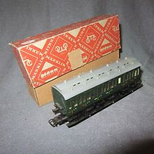 84D Antique Märklin Germany 330/1 Voiture 3 CL Ho 1/87