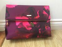 Ted Baker Beauty Wash bag Make Up pink Floral large small Vanity rose gold New