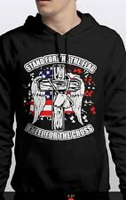 Stand For The Flag Kneel For The Cross Sweatshirt Hoodie