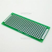 10Pcs 3X7 Cm Prototype Universal Board 3 X 7 Panel Double-Side Pcb Ic New ce