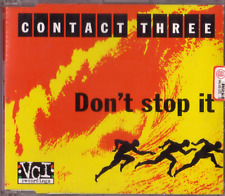 CONTACT THREE - Don't stop it -CDM- 1998 - CD MAXI - ITALY House