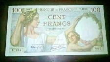 France 100 Cent Francs 1939 Banknote