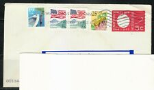United States World Fair 1964 cover postal used only 2009 to Lithuania.RARE.Bee