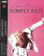 Simply Red A New Flame CASSETTE ALBUM Electronic Pop Rock, Synth-pop, Soul
