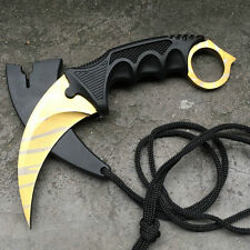 New CSGO Knife Fade Karambit Cs Go Tooth Doppler Counter Strike Claw Fixed Knife