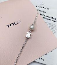 Authentic Brand New TOUS Sweet Dolls Bear Silver Bracelet