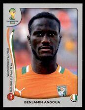 Panini World Cup 2014 (Swiss Platinum Version) Benjamin Angoua Ivory Coast #229