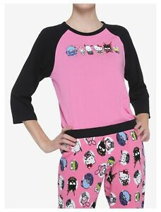 New My Hero Academia X Hello Kitty & Friends Thermal Sleep Set 2pcs PJ Junior XL