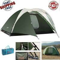 Outdoor C&ing Hiking Double Layer Tent 4 Person 3 Season Travel Family Folding  sc 1 st  eBay & Kelty Salida 4 Tent: 4-Person 3-Season + Kelty Salida Footprint | eBay