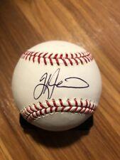 Tim Hudson Signed ROMLB Atlanta Braves Short Signature MLB Selig Autographed