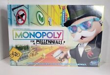 Monopoly for Millennials Millenials Edition Board Game Ages 8+ Hasbro SEALED NEW