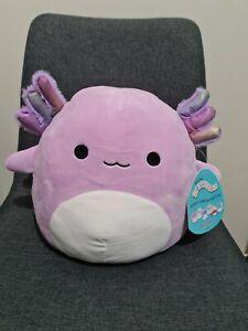 "10"" Monica Axolotl Squishmallow BNWT!! Hard To Find!!"
