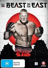 WWE - Beast In The East (DVD, 2016) BRAND NEW SEALED