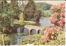 Wiltshire: Stourhead Gardens, Palladian Bridge - Posted 1991