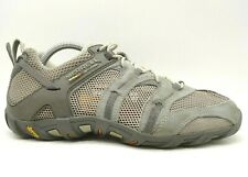 Merrell Gray Open Mesh Lace Up Athletic Performance Sneakers Shoes Men's 9