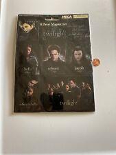 Twilight New Moon 8 piece Magnet Set By Neca Brand New Z-255K