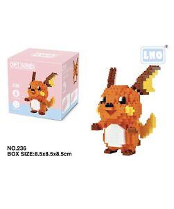 Nintendo Pokemon Raichu 355pcs Nano Blocks