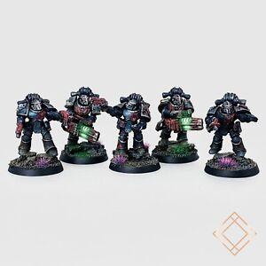 Warhammer 40k Dark Angels - Painted Legion Interemptors Squad - BoxedUp