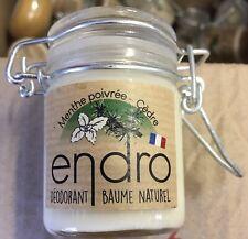 Baume Naturel Deodorant Menthe Poivrée, Cedre, Endro, Bio ; prix - 50%