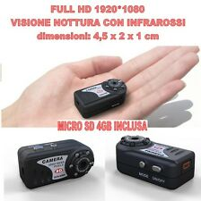 MINI DV MD80 FULL HD 1920*1080 NIGHT VISION MICRO CAMERA SPY 12 MPIXEL + SD 4GB
