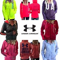 UNDER ARMOUR UA NWT ColdGear Logo Loose Full Zip Hoodie S M L XL Printed Solid