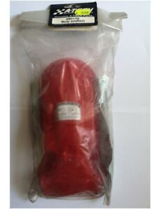 CARROZZERIA ROSSA + ADESIVI XMB4 1/18 RICAMBIO A-TECH MB017RE BODY SHELL SET RED