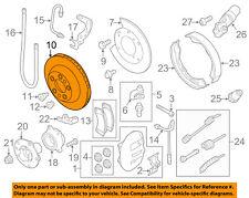 PORSCHE OEM 08-14 Cayenne Rear Brake-Rotor 95535240131