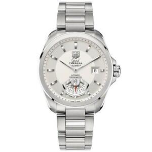 Tag Heuer WAV511B.BA0900 Grand Carrera Men's Automatic Stainless Steel Watch