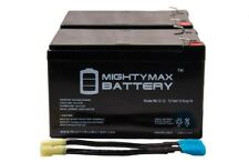 Mighty Max RBC6 UPS Complete Replacement Battery Kit for APC SU1000RMINET