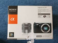 Sony NEX-F3K 16.1 MP Mirrorless Digital Camera with 18-55mm Lens (Black)