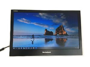 "Lenovo ThinkVision LT1421WD 14"" LED LCD USB Portable Monitor Without Cover"