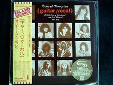 Richard Thompson - (Guitar, Vocal) Japan SHM-CD Mini LP OBI Brand New UICY-94609