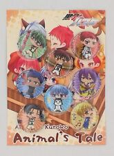 8pcs Anime Kuroko No Basket Badge Brooch Pin Button 3.2CM