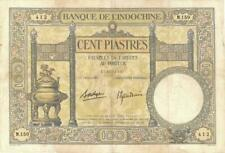 French Indo-China 100 Francs Currency Banknote 1936