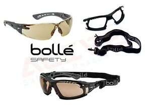 Bolle RUSH + Safety Glasses Spectacles TWILIGHT Anti-Scratch & Anti-Fog Lens